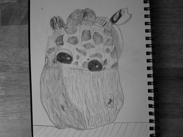 fluffy giraffe